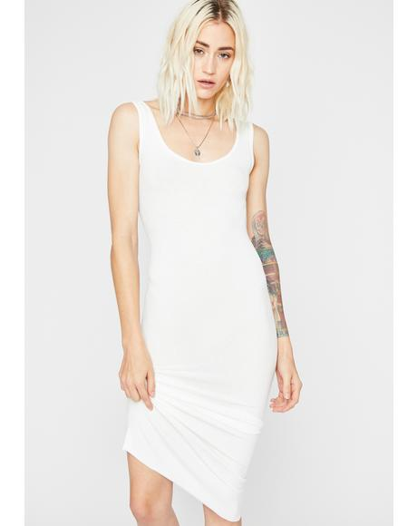 Plain N' Simple Midi Dress