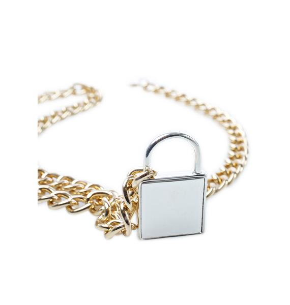 Latch Onto Me Necklace