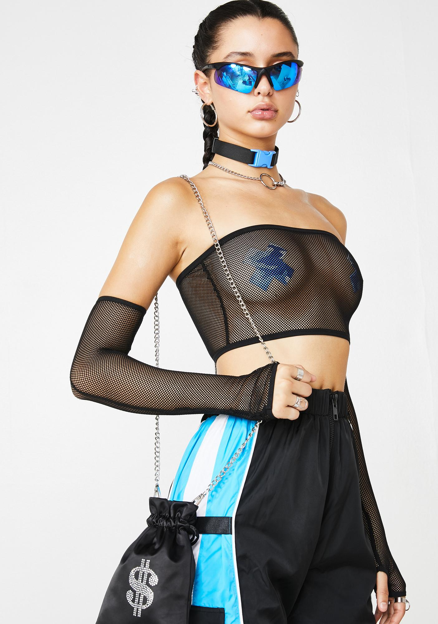 Poster Grl Party Edition Tube Top N' Gloves Set