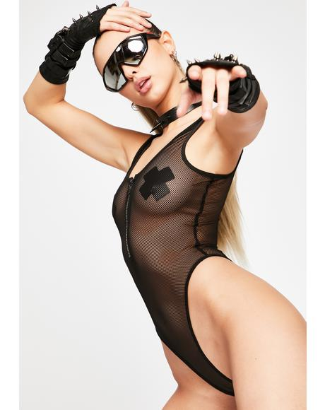 Nothin' Left To Lose Fishnet Bodysuit
