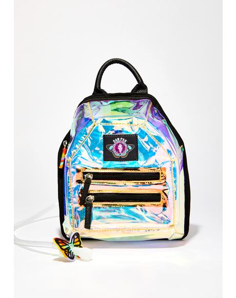 Holographic Mini Hydration Backpack
