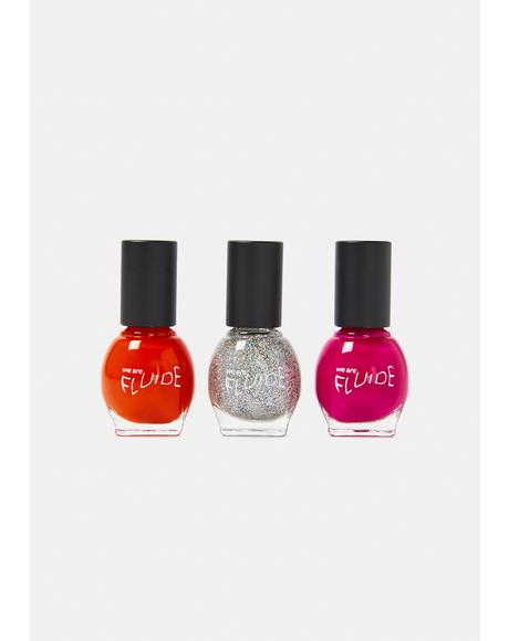 Be Bold Nail Polish Trio