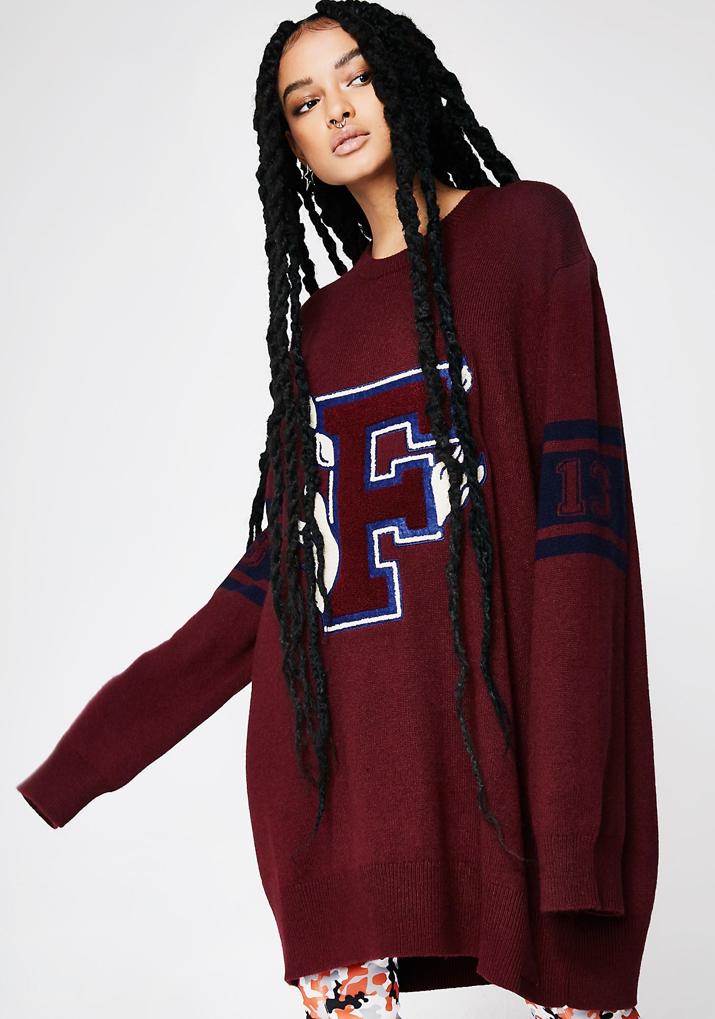 PUMA FENTY PUMA By Rihanna Varsity Letter Sweater
