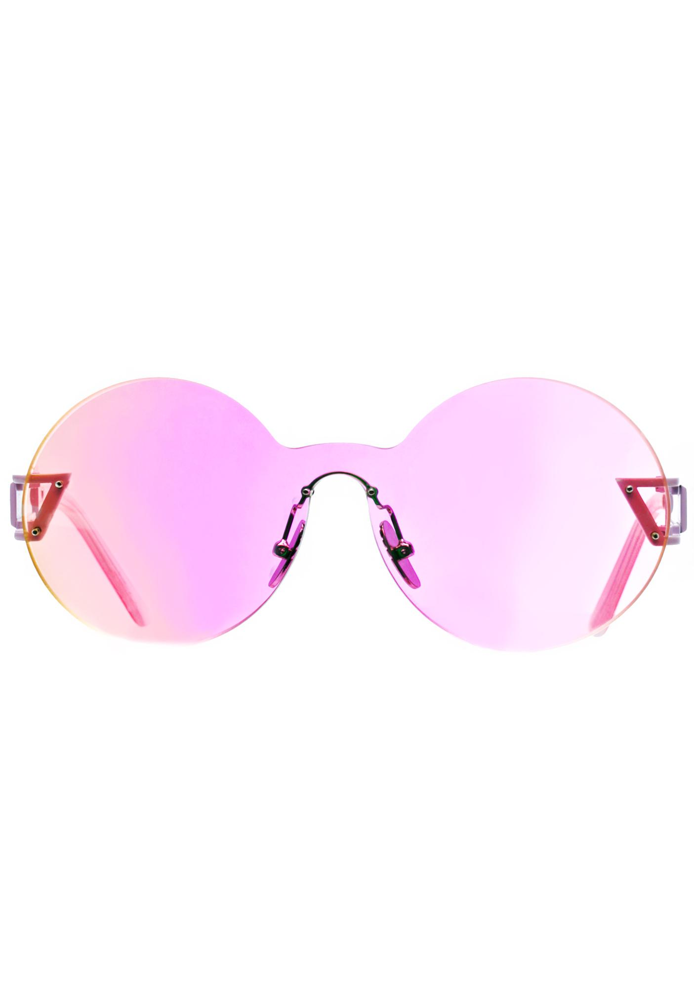 f015e7f6cb ... ESQAPE Seemore Pink Hologram Sunglasses