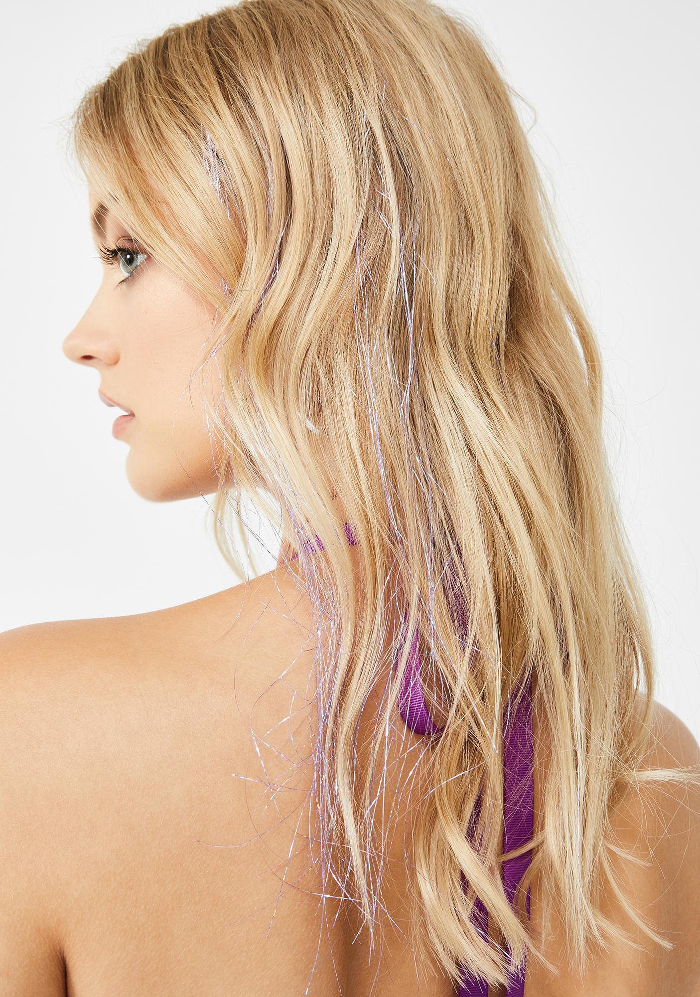 Iris Glitter Hair Strands by Goddess Glitter