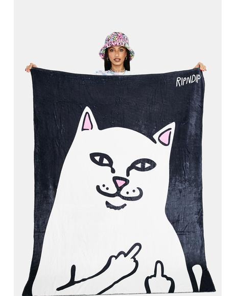 Lord Nermal Throw Blanket