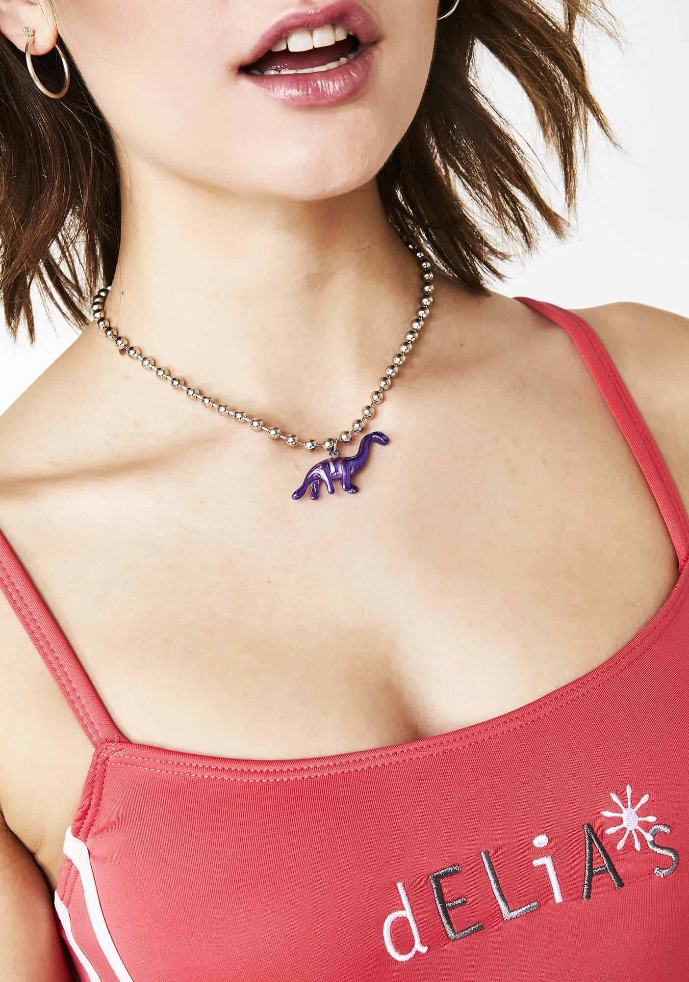 Before Time Dinosaur Necklace