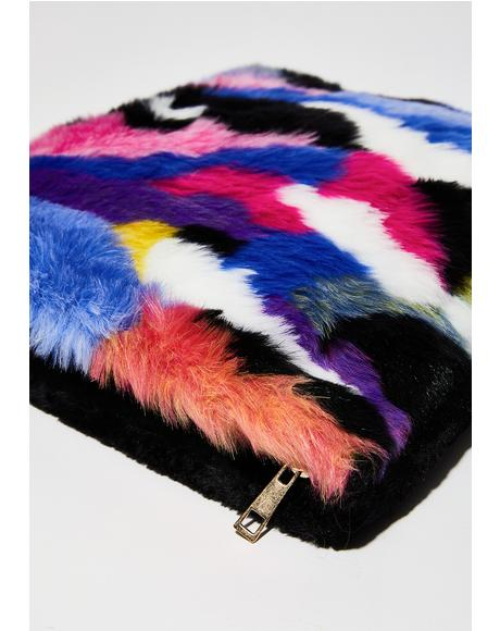 Prizm Pet Peeve Furry Purse