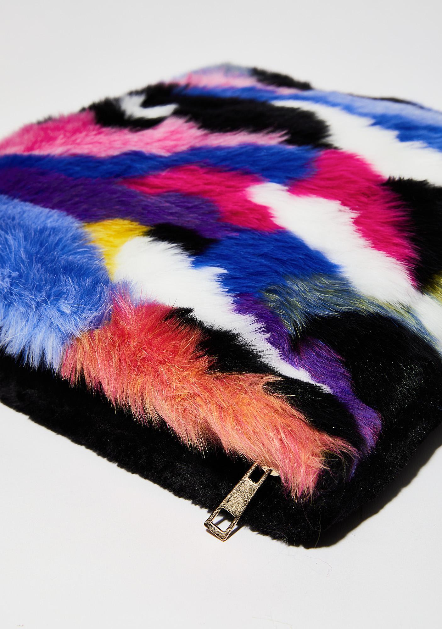 Prizm Pet Peeve Furry Purse