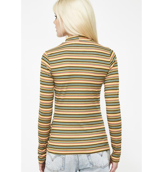 Get Funky Striped Top