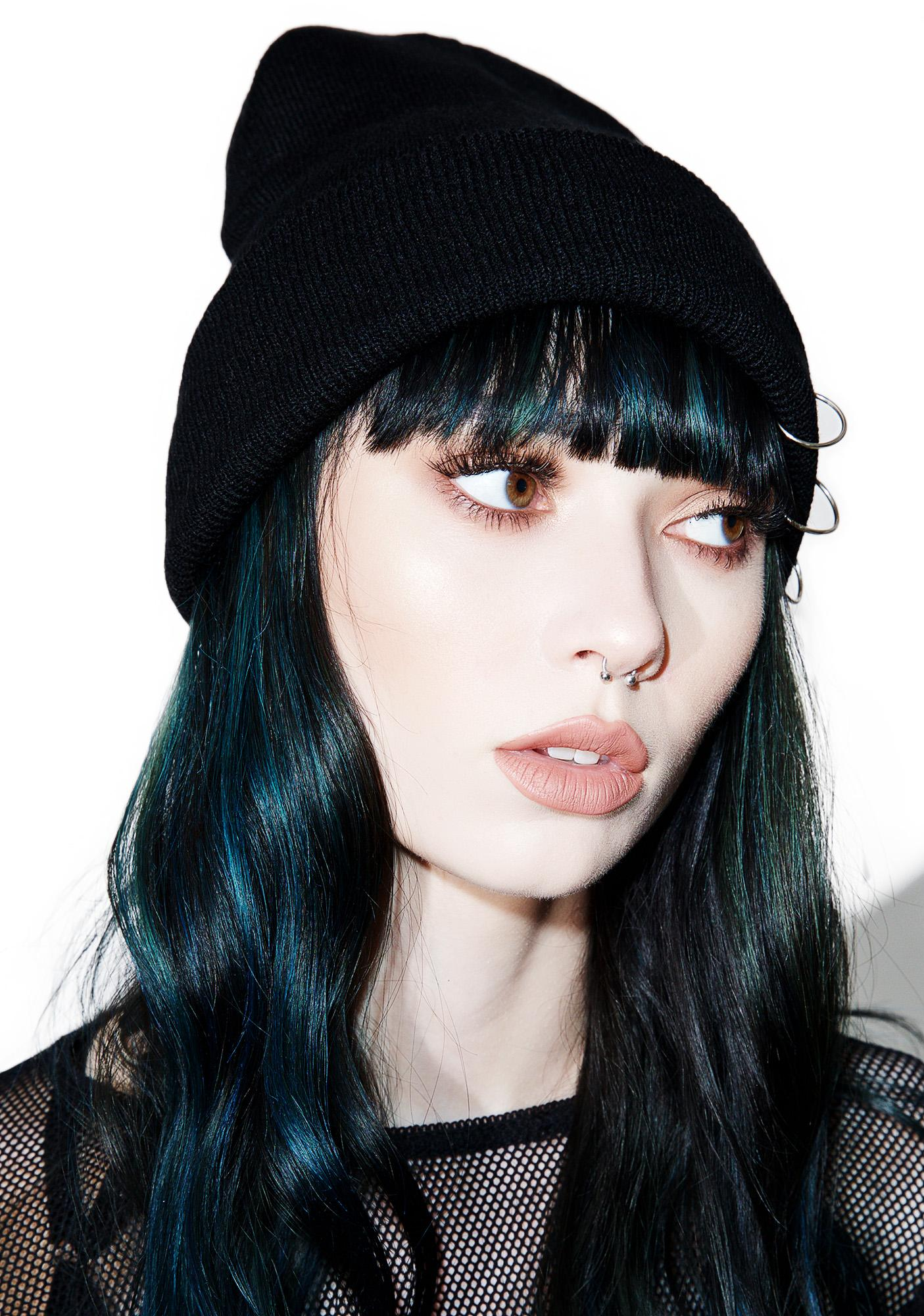 Cold Pierce Ring Beanie