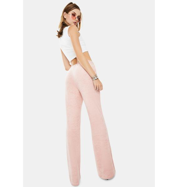 Bailey Rose Comfy Velour Sweatpants