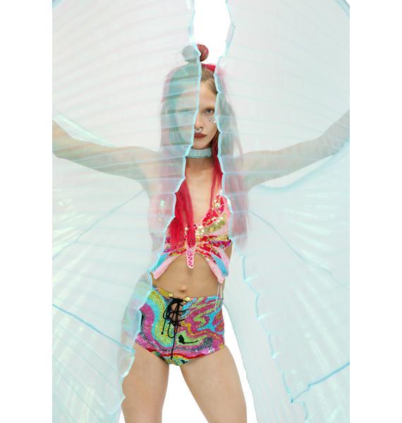 Flutterfly Gem Angel Wings