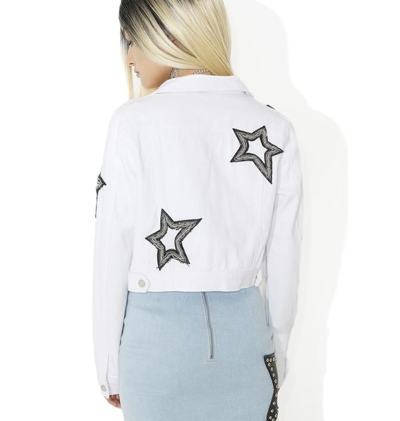 Sungraze Embellished Denim Jacket