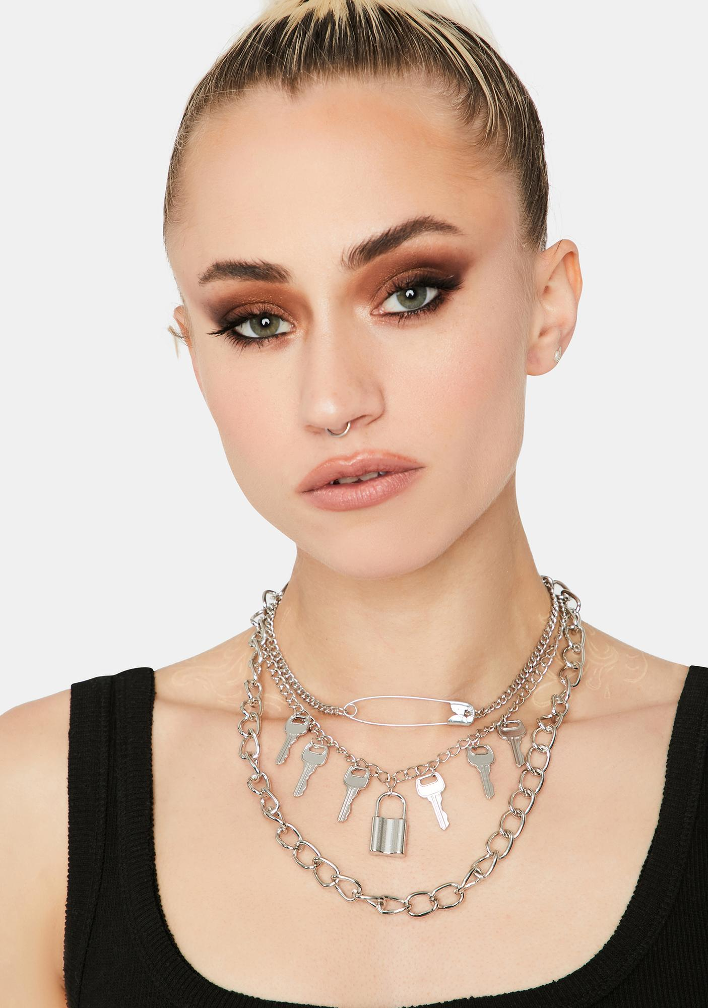 Stay Close Layered Necklace