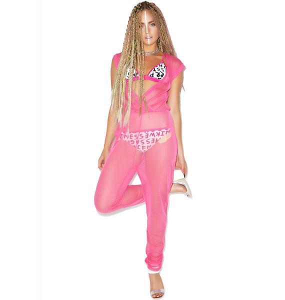 Hot!MeSS Mesh Jumpsuit