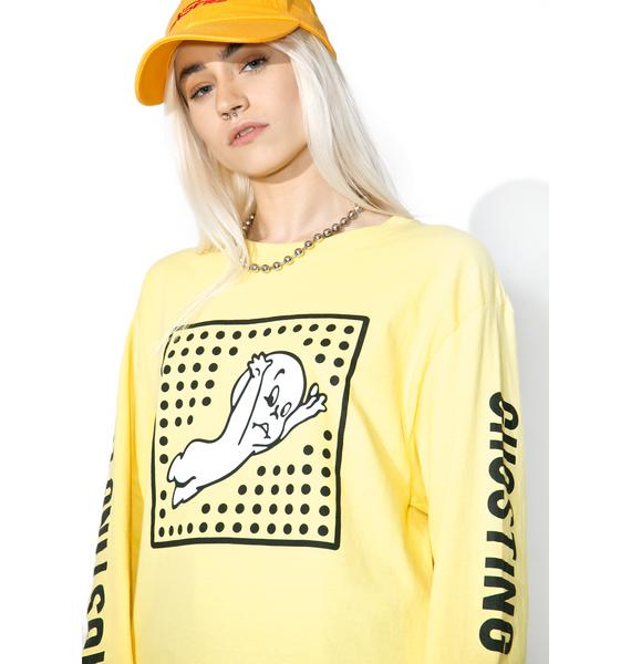 Petals and Peacocks I'm Probably Ghosting You Long Sleeve Tee