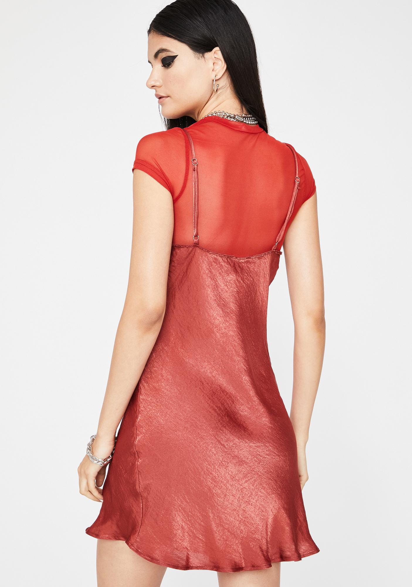 Not Ur GF Mini Dress