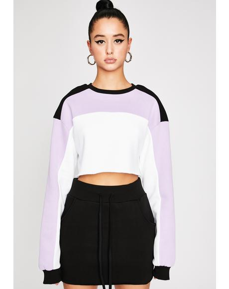 High Profile Colorblock Sweatshirt