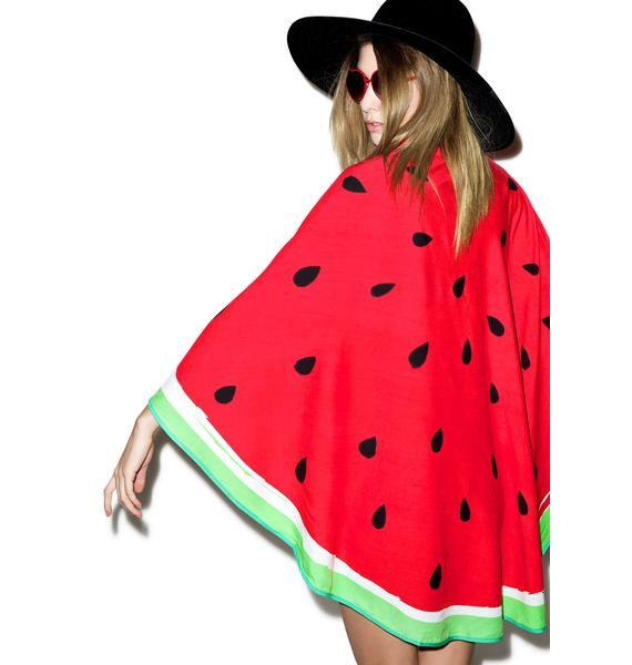 Watermelon Circle Sarong