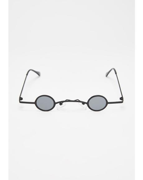 Luna Sharp Eye Mini Sunglasses