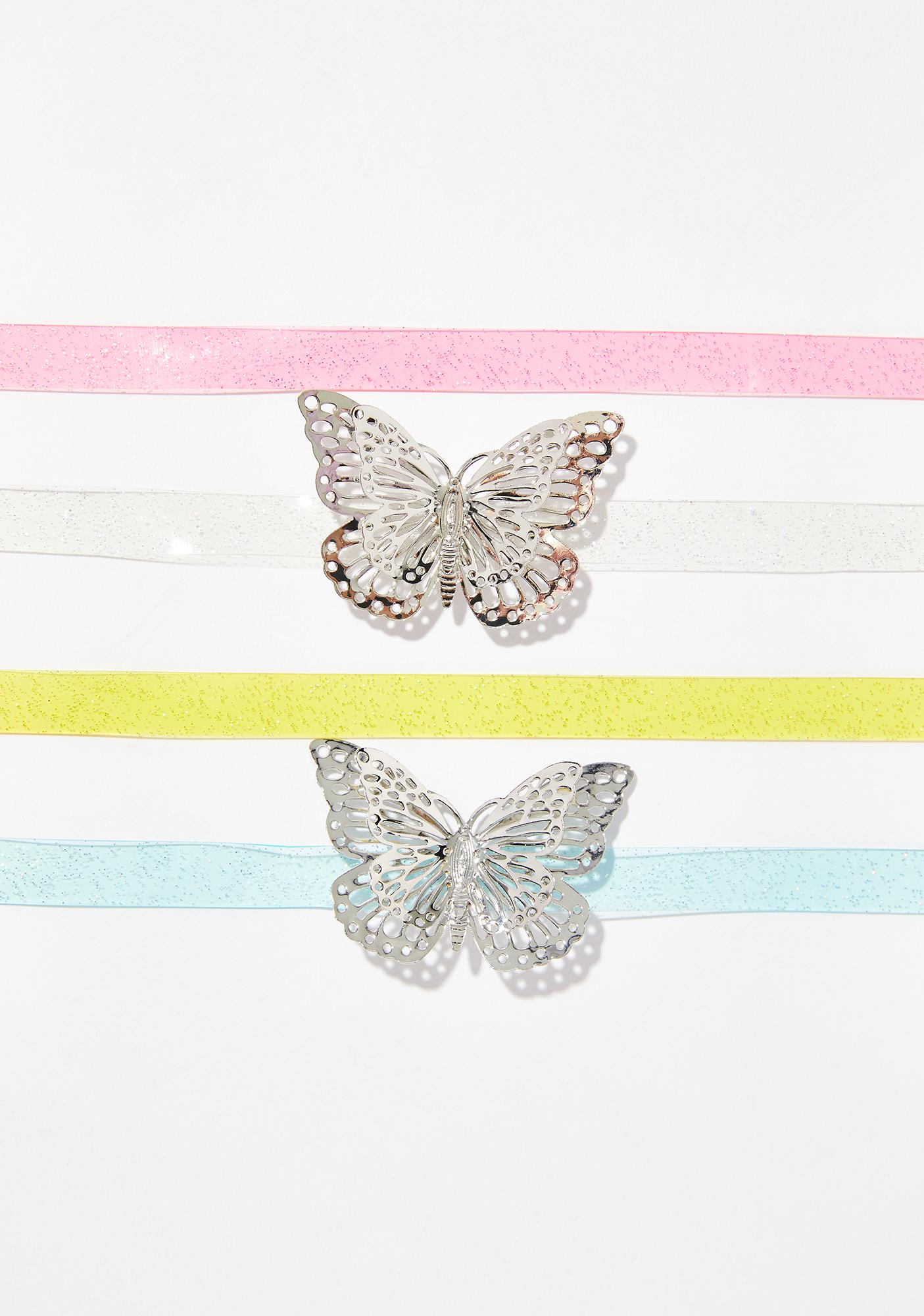 Princess Butterfly Choker Set