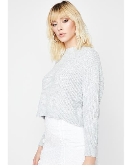 Icy Hey Angel Knit Sweater