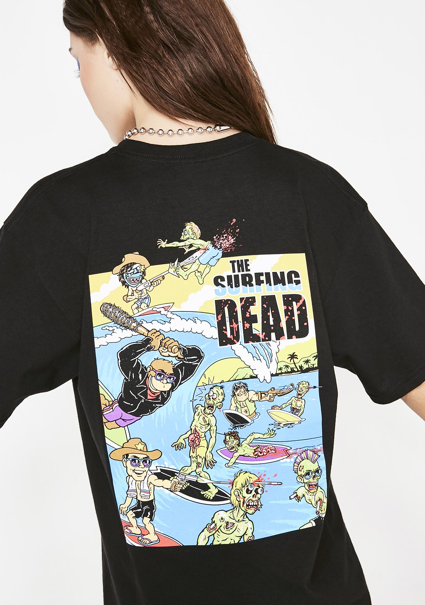 Thrillakrew The Surfing Dead Tee