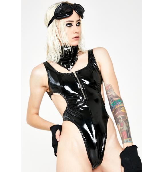 Forbidden Clothing Hole Bodysuit