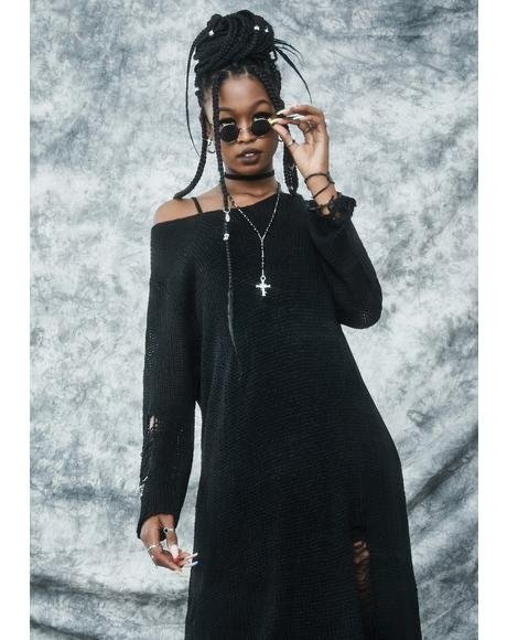 Coven's Calling Sweater Dress