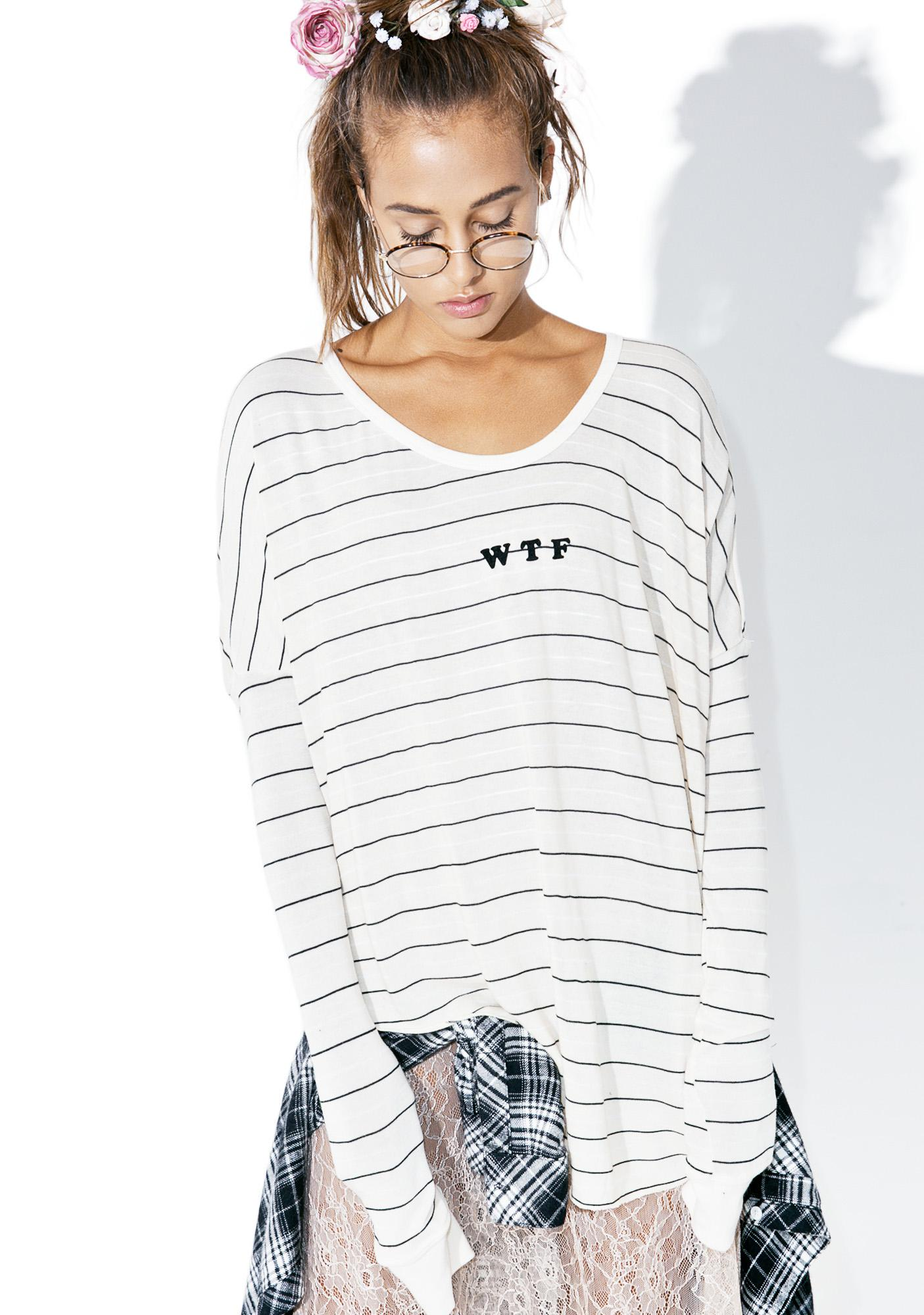 Wildfox Couture WTF Perry Thermal