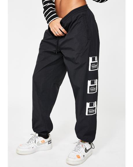 Over You Nylon Track Pants