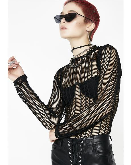 Black Sheep Mesh Top