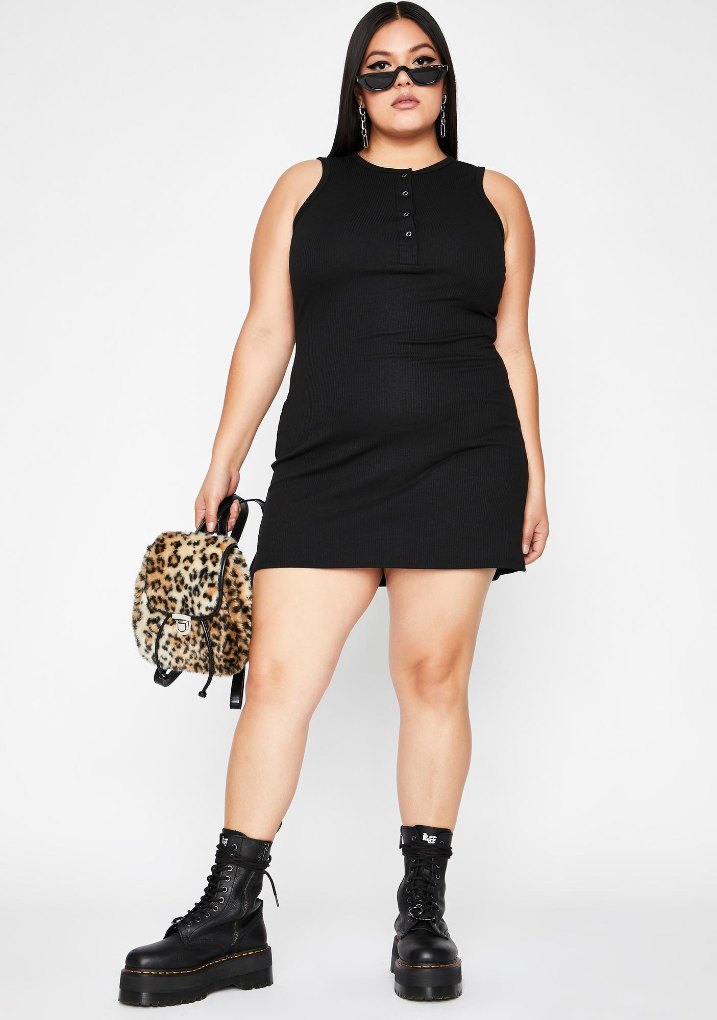 Cozy Couture Tank Dress