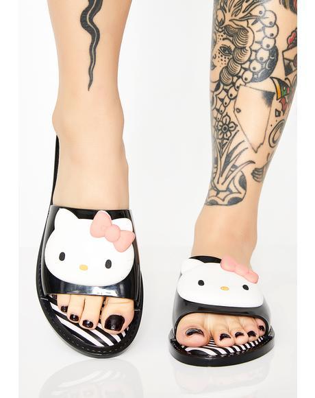 X Hello Kitty Sandal Slippers