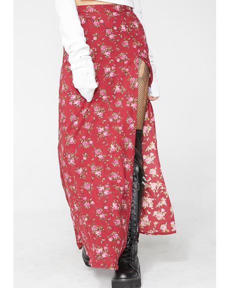 Lit Shayk Maxi Skirt