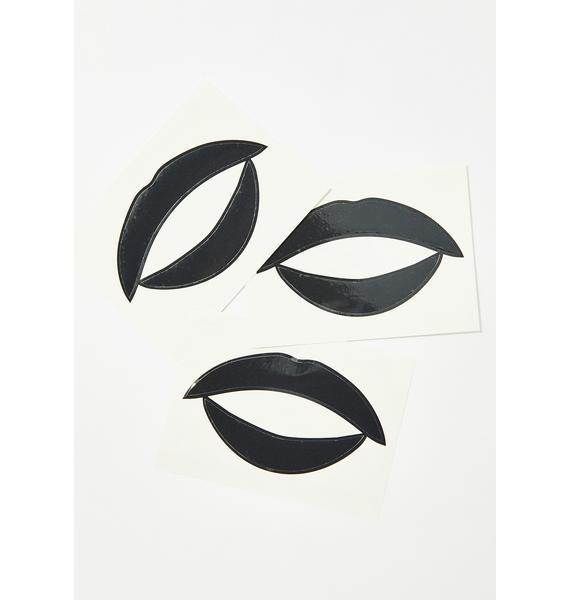 Violent Lips Noir Lip Applique