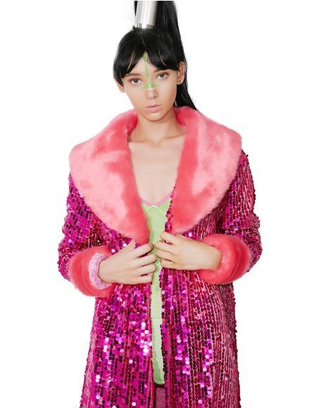 Feeling Pink Festi Coat