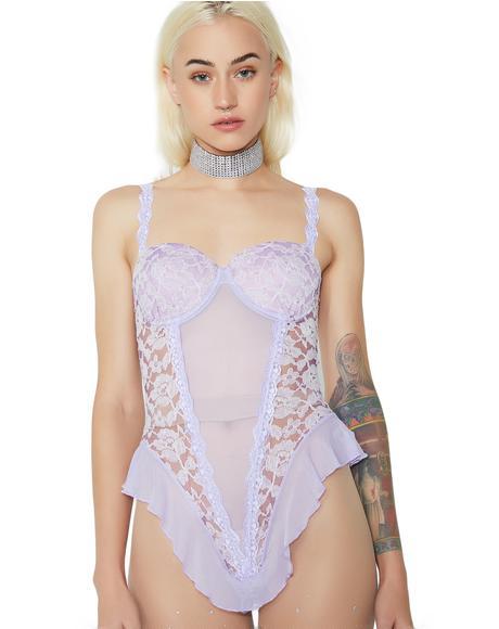Sweet Fantasy Lace Bodysuit