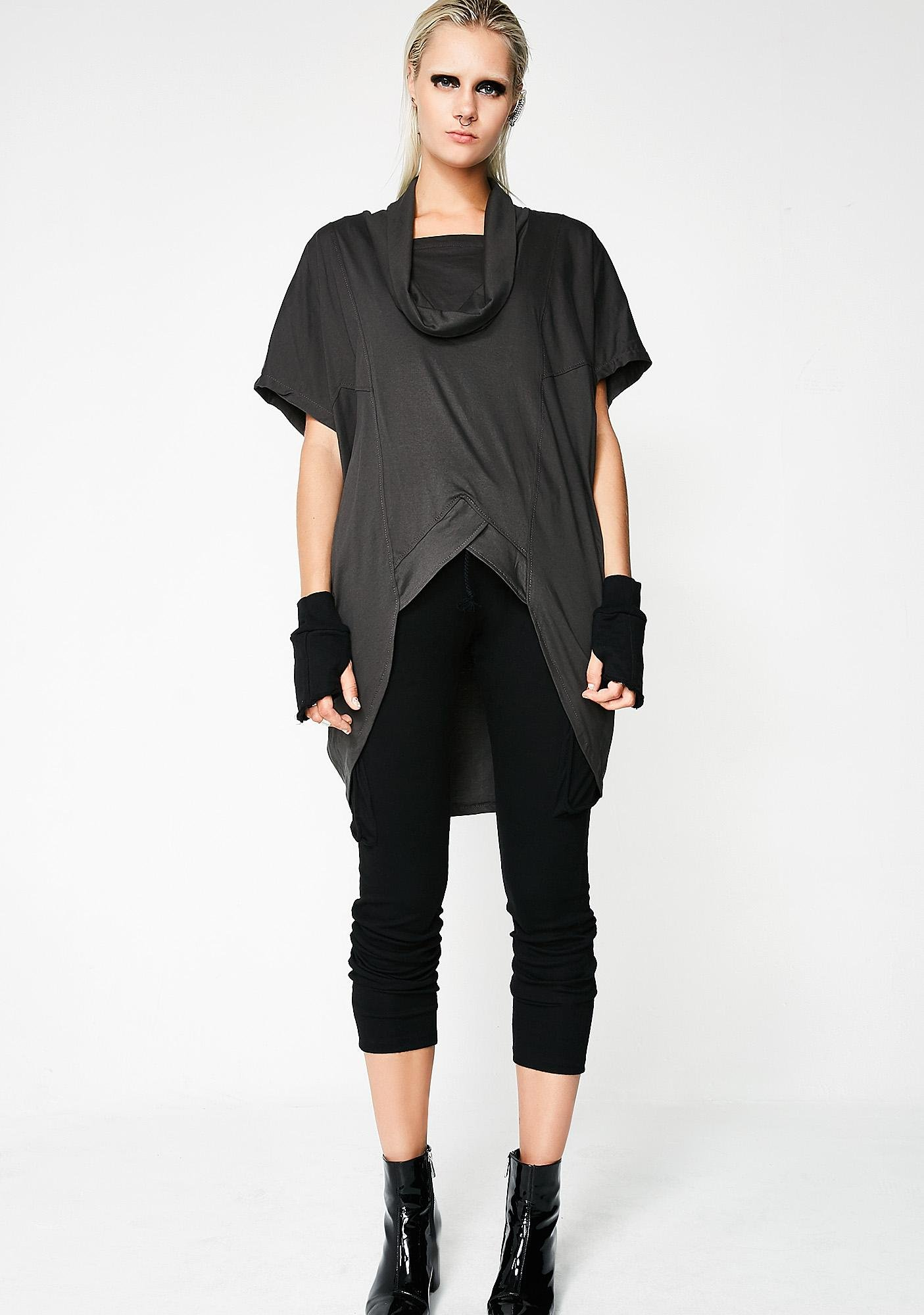MNML Invictus Cowl Neck Top
