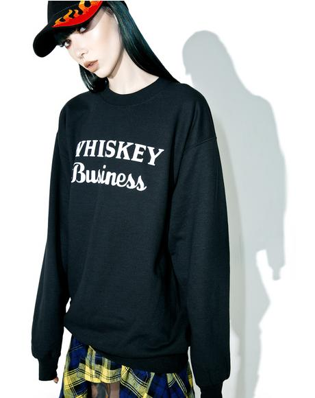 Whiskey Business Sweater
