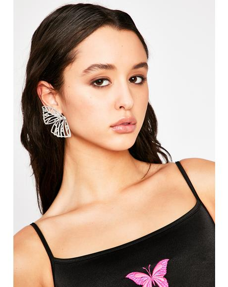 This Must Be Love Butterfly Earrings