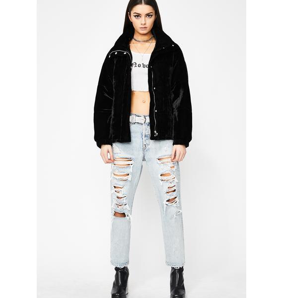 Onyx Raise The Stakes Velvet Jacket
