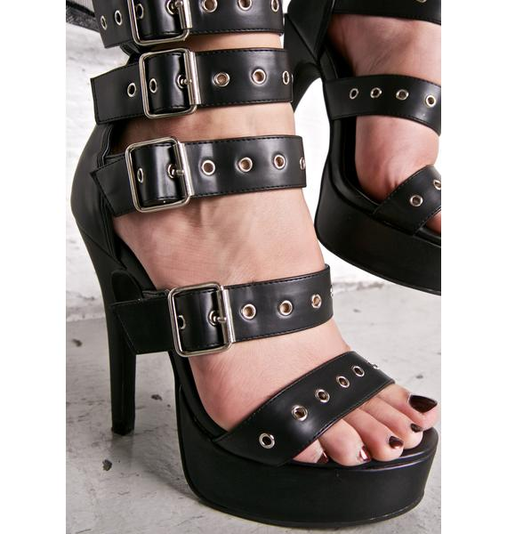 Current Mood Buckler Heels