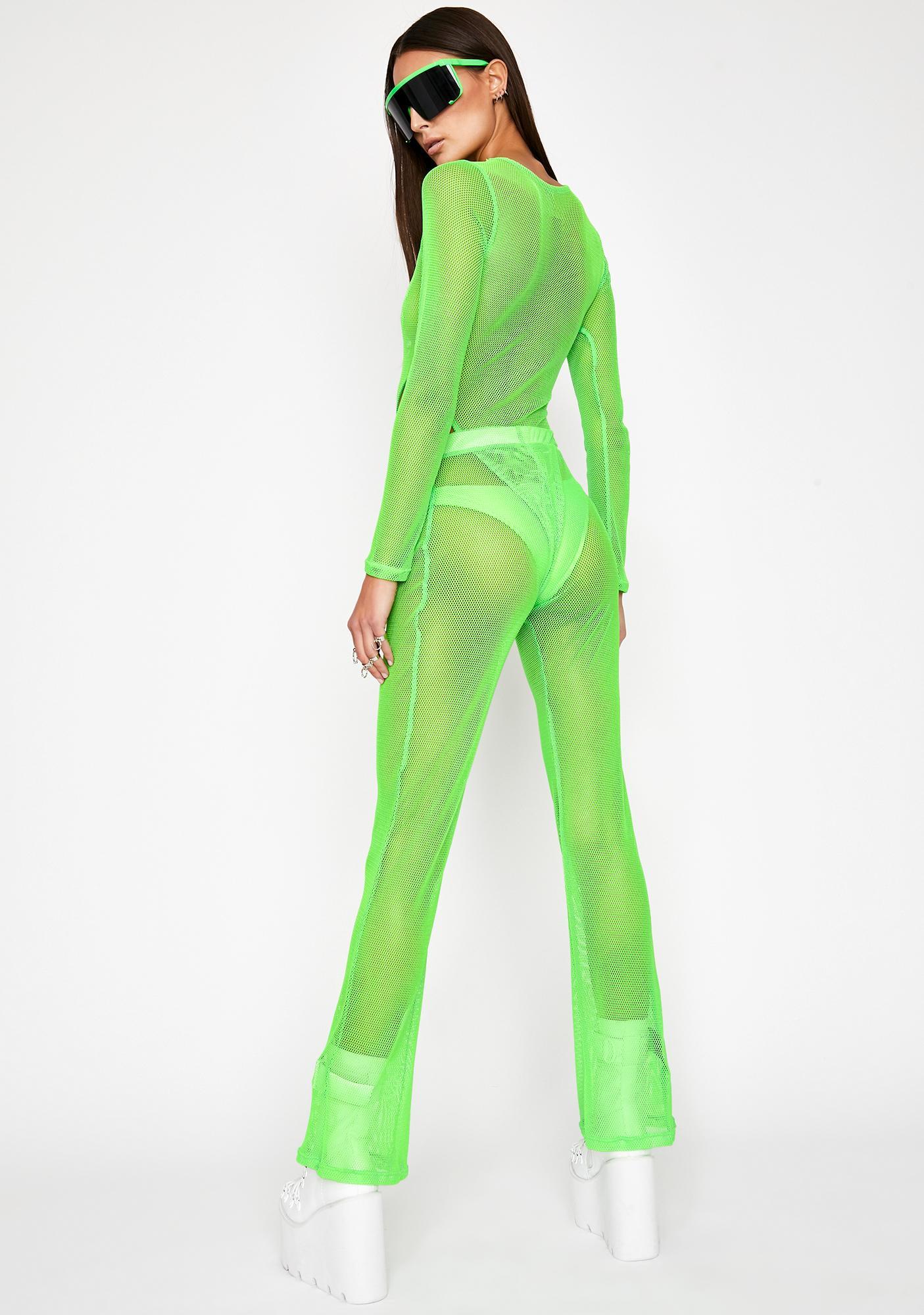 Slime Infinite Illusion Mesh Flares