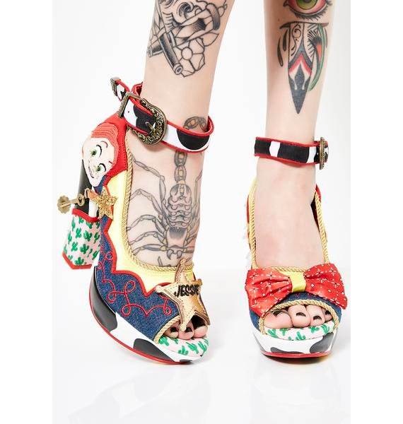 Irregular Choice x Toy Story Rootinest Tootinest Cowgirl