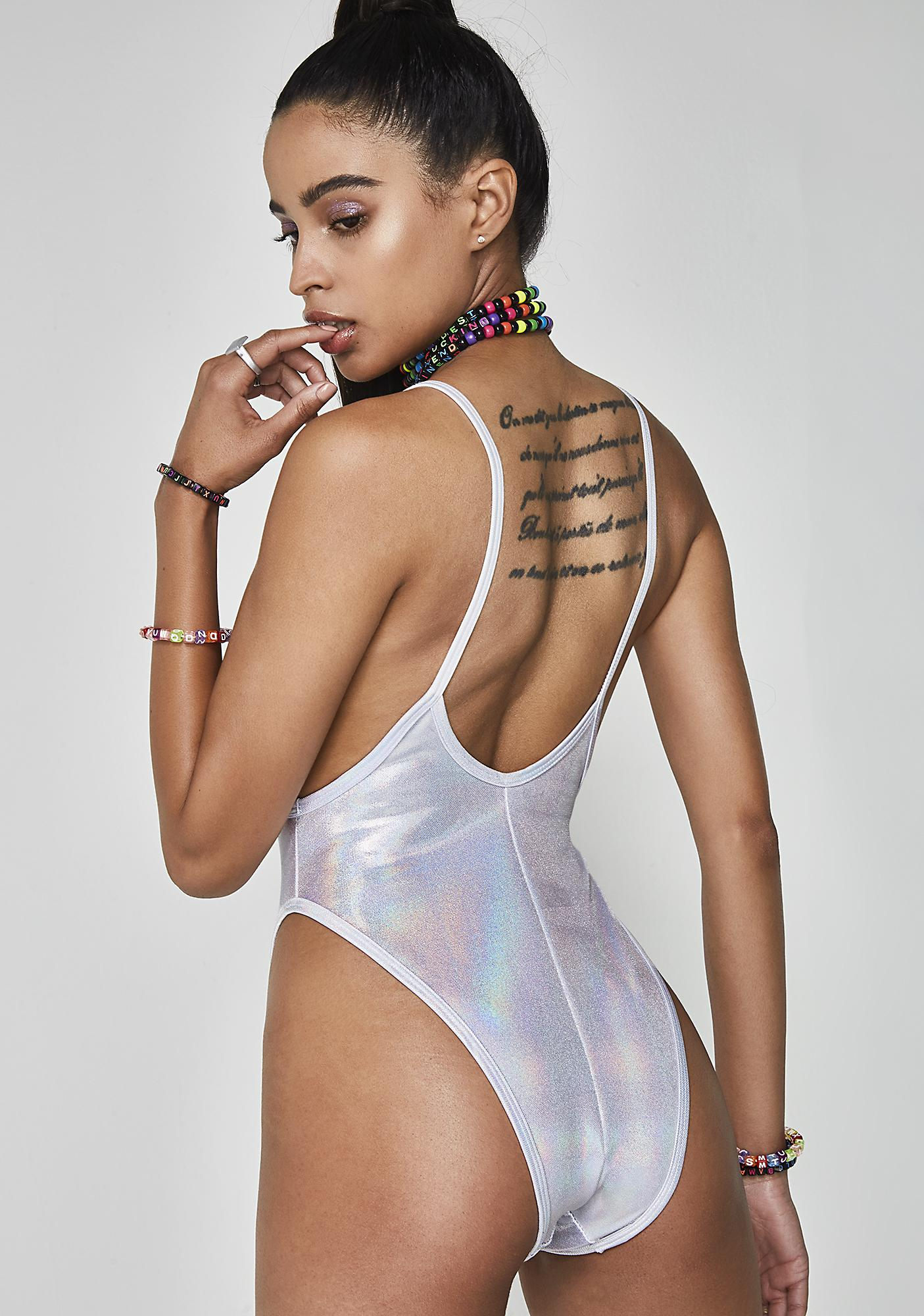 Iced Dimension High Rise Bodysuit