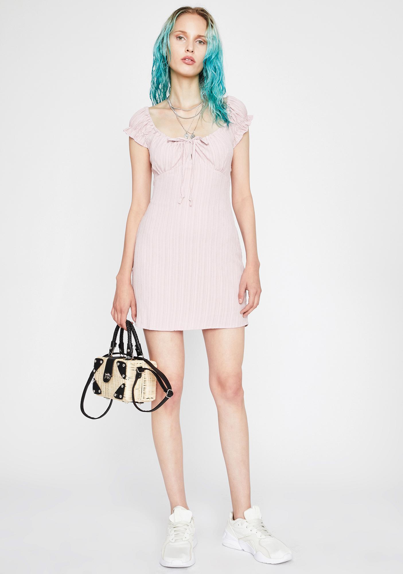 Yes Ma'am Mini Dress