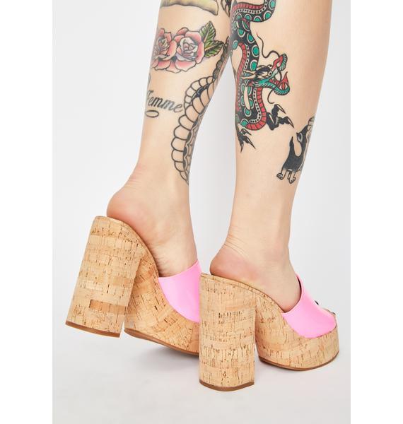 ROC Boots Australia Barbie Cashew Block Heels