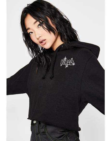 Virgo Territory Embroidered Hoodie